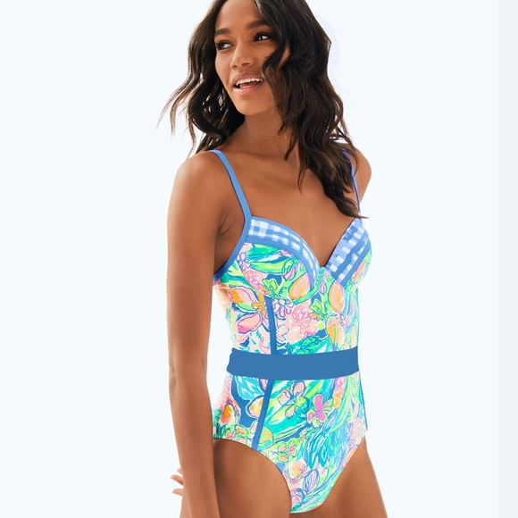 6ad6f7e8e42 Lilly Pulitzer Swim | Palma One Piece Suit | Poshmark